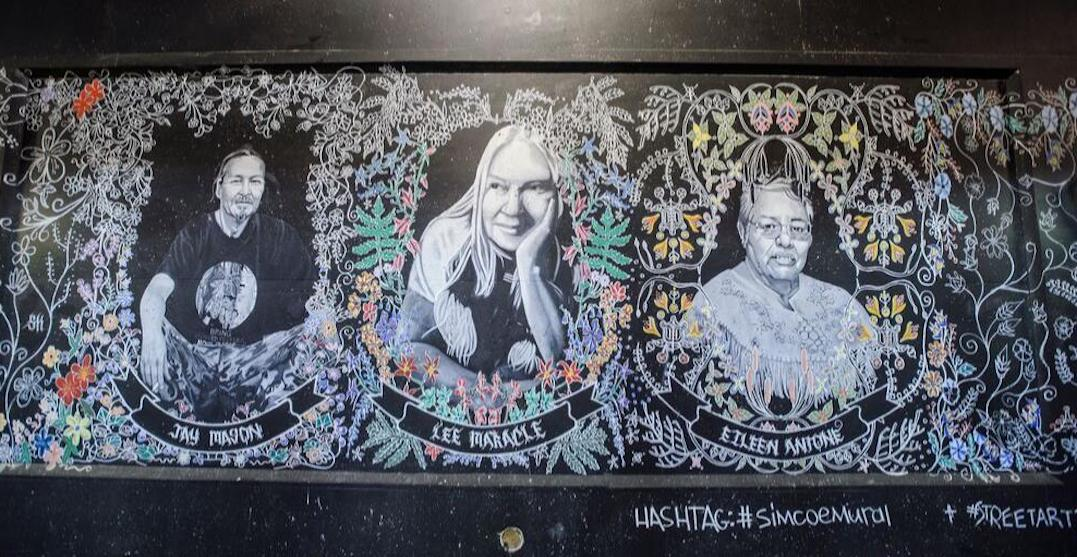 Mural honouring Indigenous perspectives unveiled in downtown Toronto