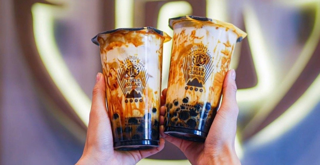 Taiwanese bubble tea chain 'Tiger Sugar' to open in Metro Vancouver