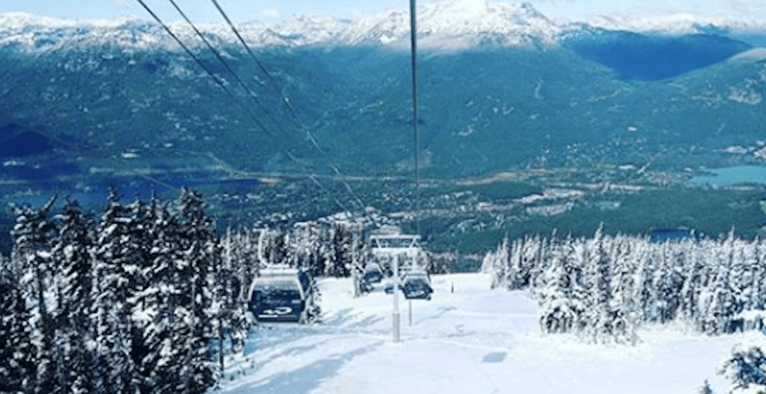 Whistler Blackcomb hit with September snow on the weekend (PHOTOS)