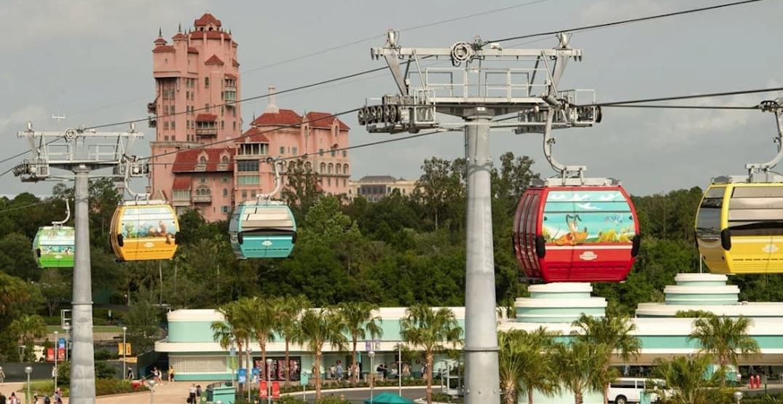 Disney World's 10-km-long gondola transit system now open (PHOTOS, VIDEOS)