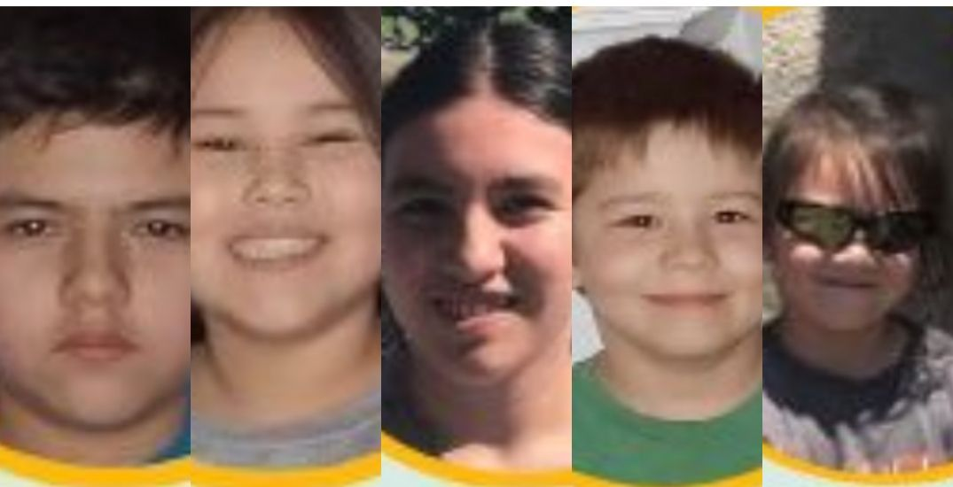 Amber Alert for 5 children cancelled but youngsters still missing