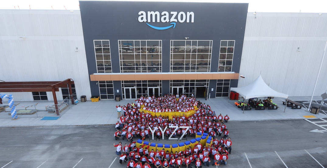 New Amazon fulfillment centre hiring for more than 800 seasonal positions in Ontario