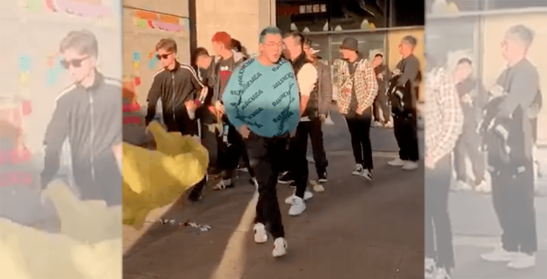 Pro-Beijing supporters tear down Lennon Wall at Aberdeen Station (VIDEOS)
