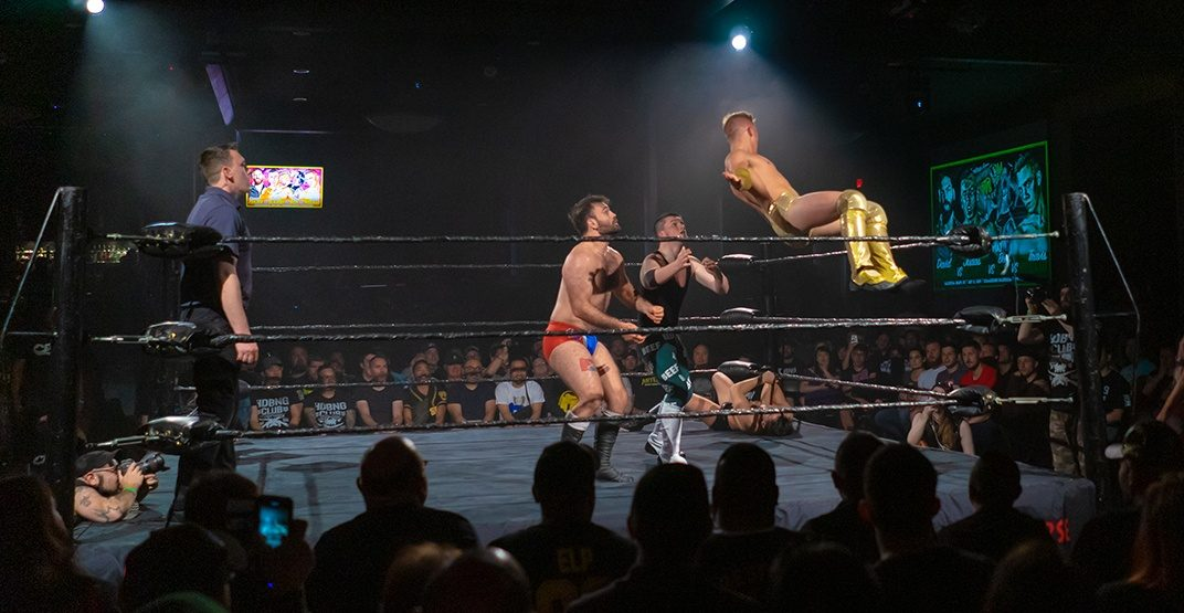 A live wrestling showcase is taking over the Commodore