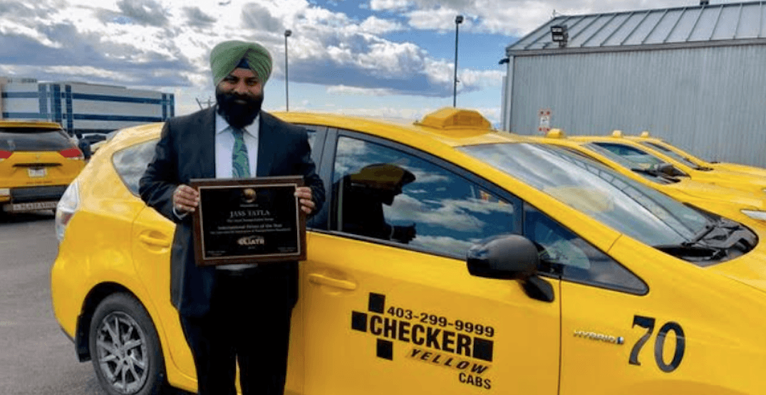 Calgary cabbie named Driver of the Year by international organization