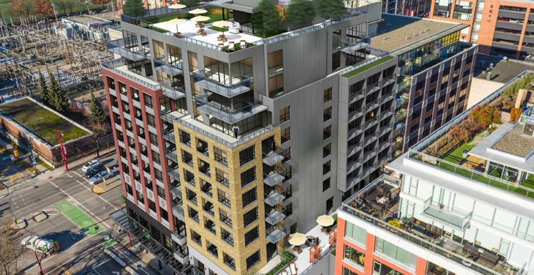 New downsized design for Brickhouse redevelopment in Vancouver's Chinatown