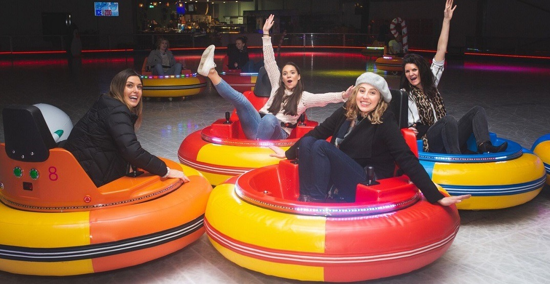 Calgary is going to get bumper cars on ice this winter