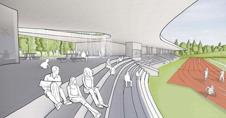City of Surrey proposes concept for new athletics stadium