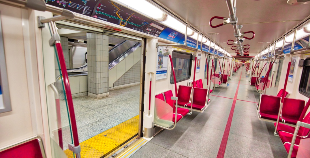 The year's first TTC closure is scheduled for this weekend