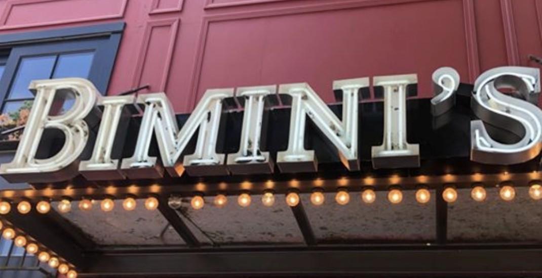 Kitsilano's popular Bimini Public House listed on sale for $549K