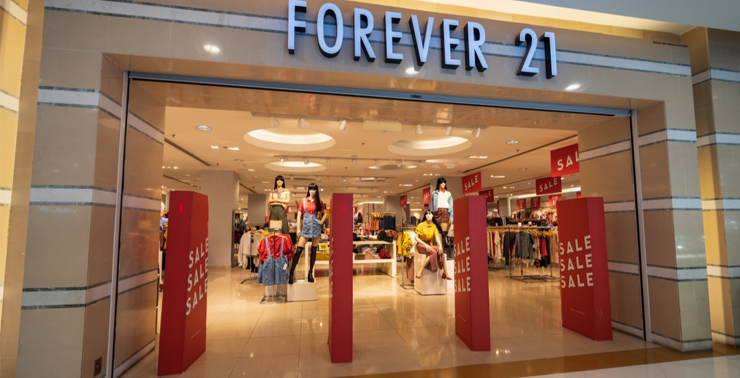 Forever 21 to reopen in Canada through international online store