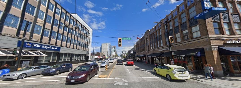 West Broadway Granville Street