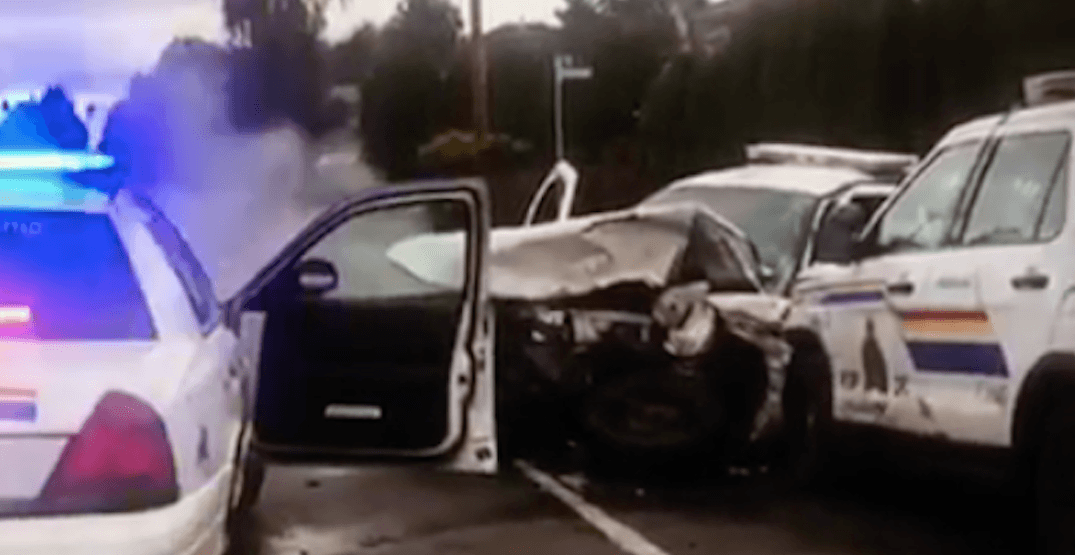 Hospital patient accused of stealing and crashing cop car charged