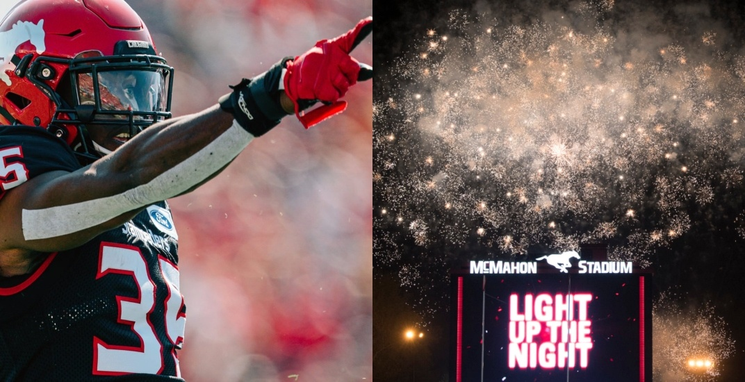 Win tickets to Calgary Stampeders fireworks night this Friday (CONTEST)
