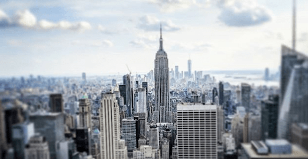 You can fly from Vancouver to New York for $355 return