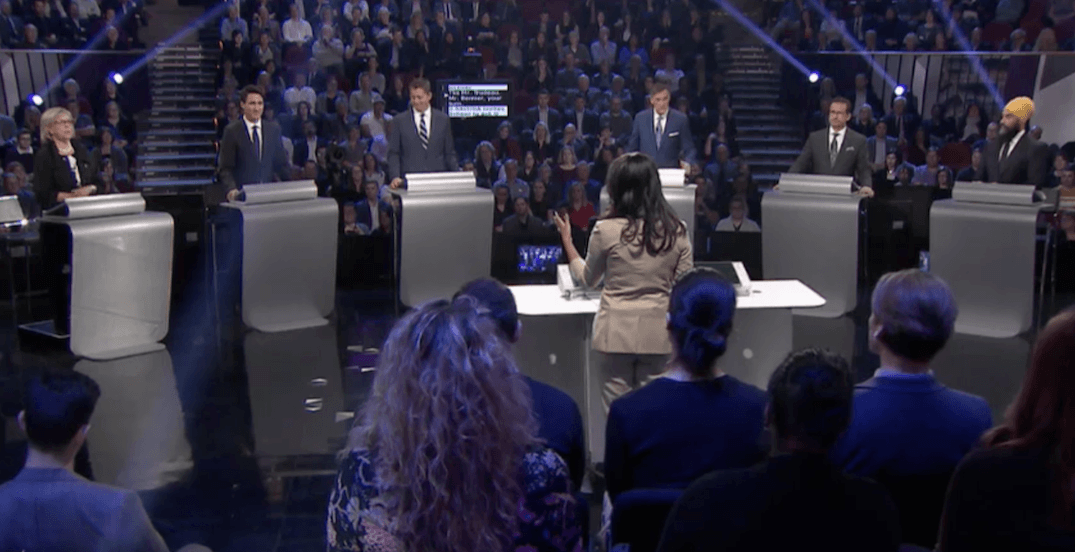 From a lot to a little, party leaders dish baloney in English language debate