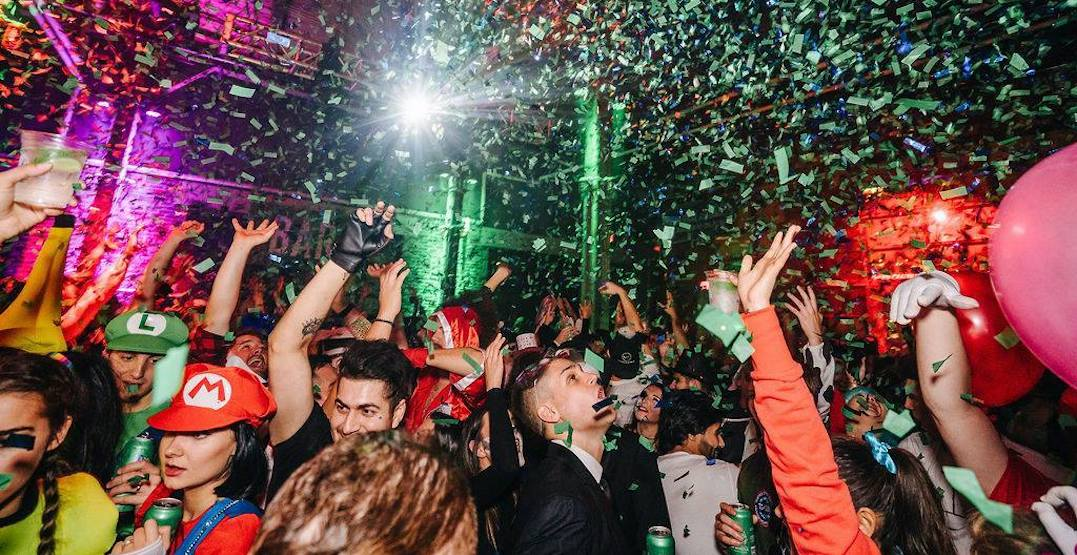 Steam Whistle is hosting a huge Halloween bash downtown this month