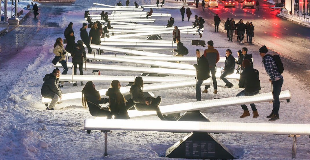 Toronto's waterfront will be filled with art installations again this year