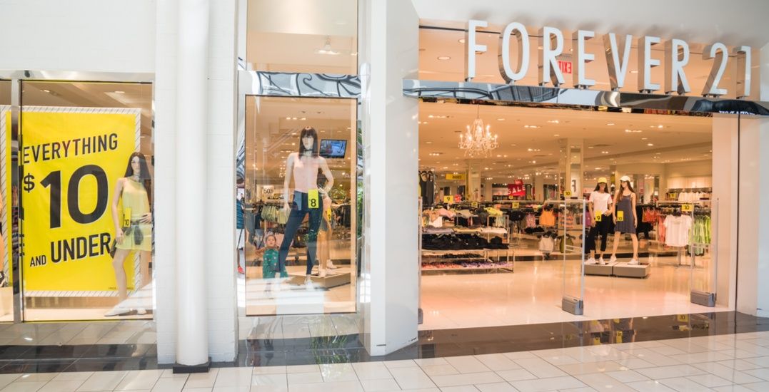 Forever 21's liquidation sale officially kicks off across Canada today
