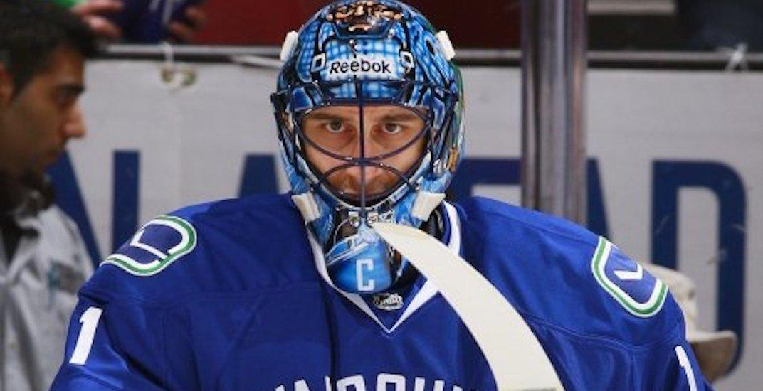luongo canucks captain