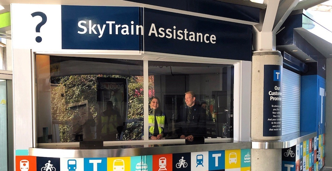First SkyTrain customer service counter opens inside Commercial-Broadway Station