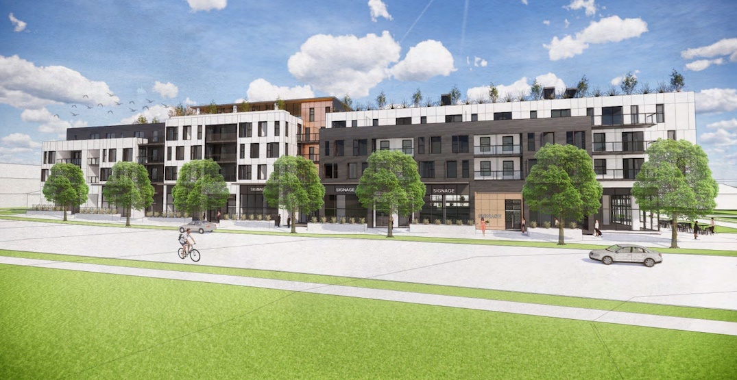 New retail and housing development proposed across from Langara College
