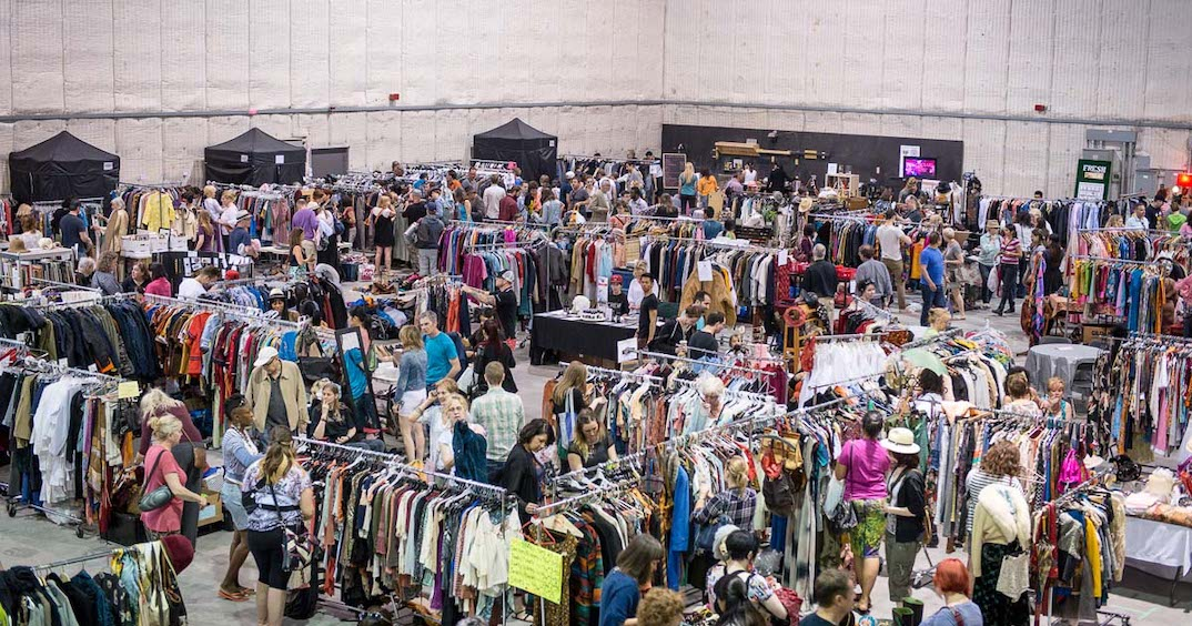 There's a huge movie wardrobe sale in Toronto this weekend