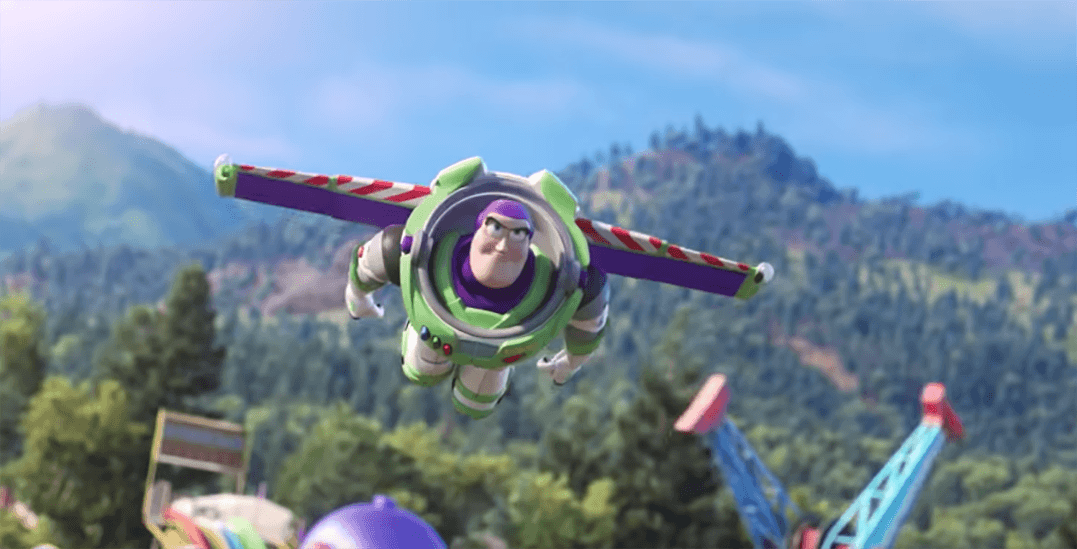 Watch Toy Story 4 on the massive Jumbotron at BC Place this weekend