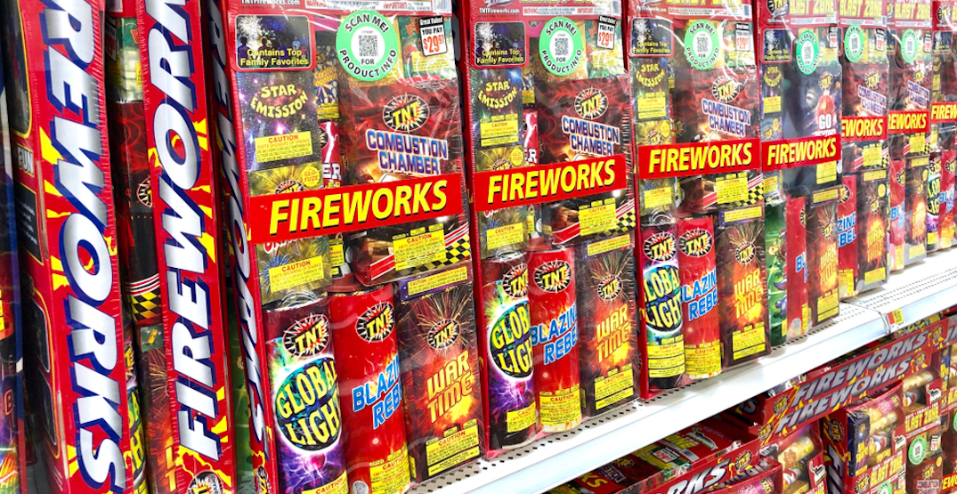 Vancouver just approved a motion to ban the sale of fireworks