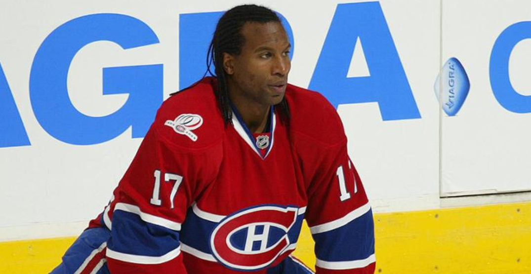 Georges Laraque responds to National Post mixing up retired black NHL players
