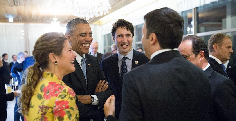 Trudeau sidesteps questions about Obama endorsement