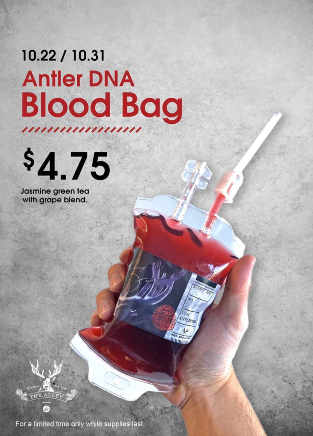 Blood Bag Tea