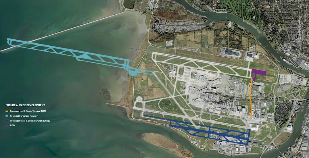 Vancouver International Airport runway options