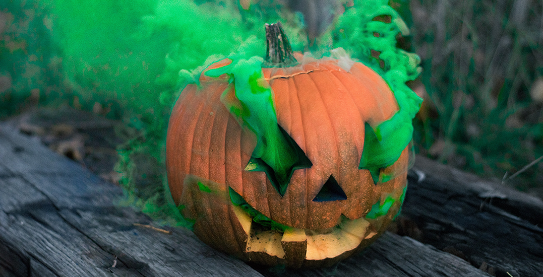 There's a Haunted Pumpkin Festival in Edmonton this weekend
