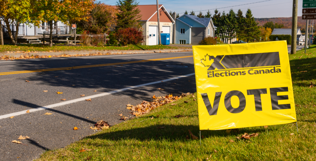 "Many Canadians bummed to not receive ""I Voted"" stickers at the polls"