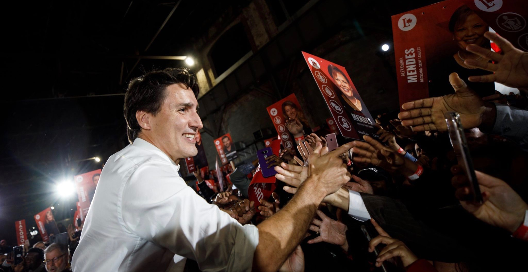 Canada Votes: Justin Trudeau's Liberals projected to win