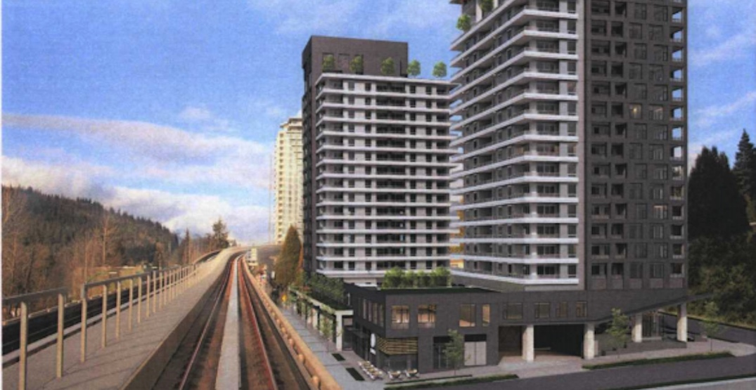 539 homes in towers up to 470 ft proposed near Burquitlam Station