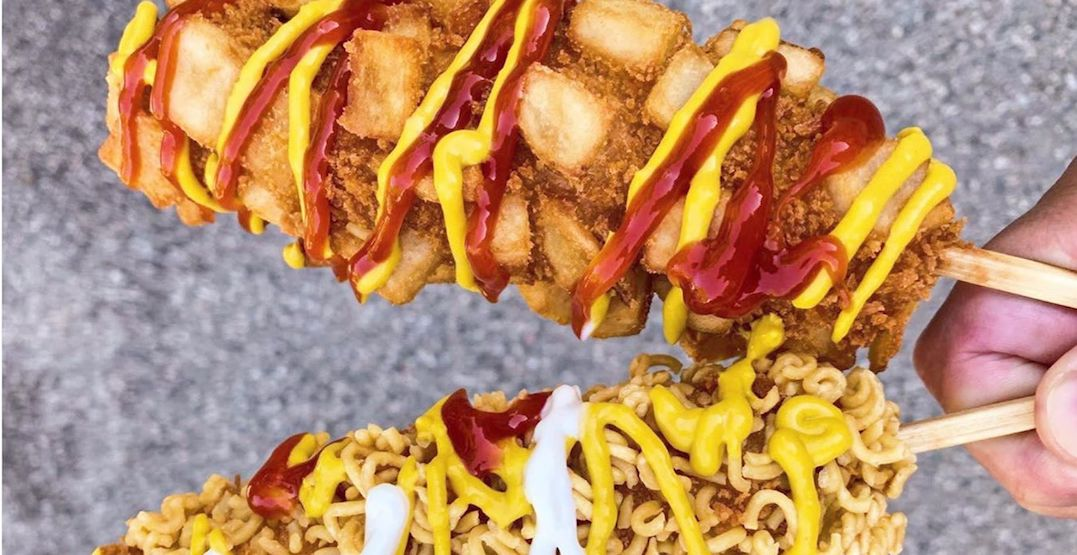 Over-the-top Korean rice dog shop opening first Canadian location in Toronto