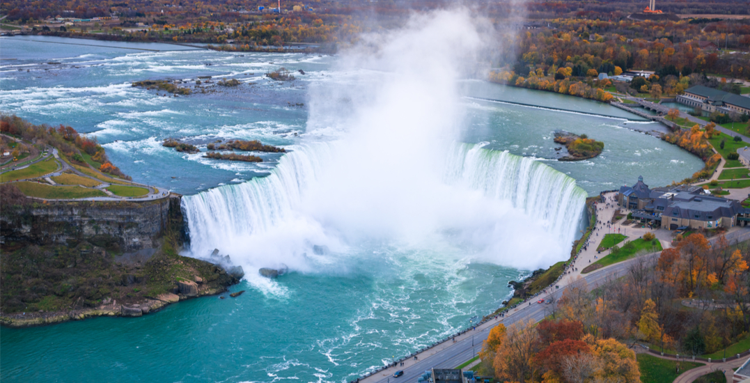 You can take the train from Toronto to Niagara Falls for $30 return this fall