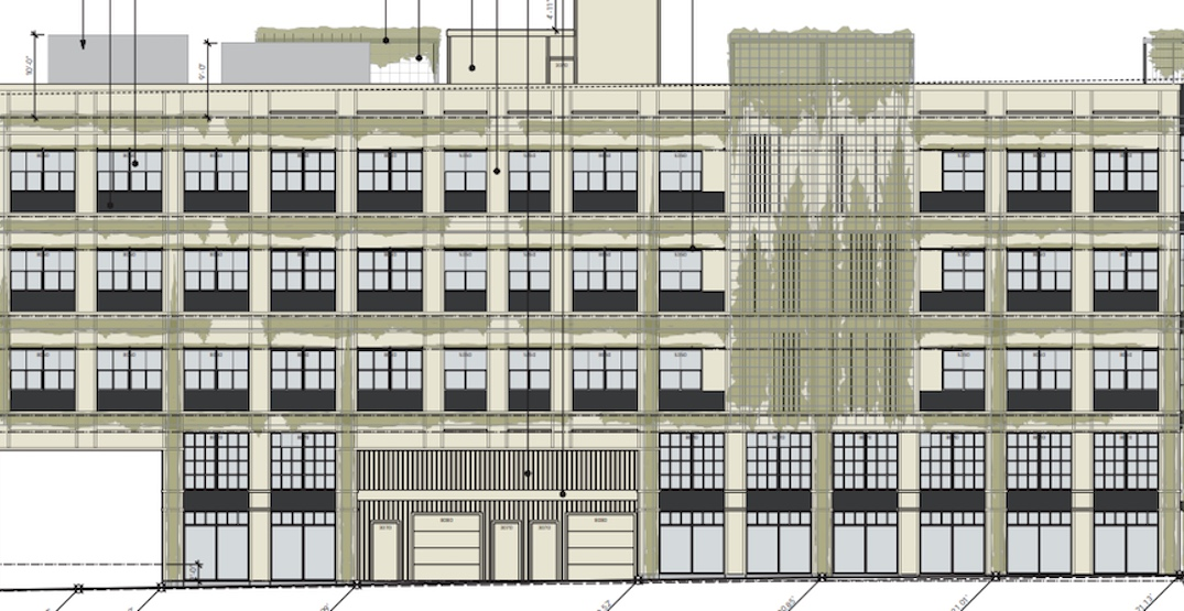 Office building with classical architecture proposed for Mount Pleasant