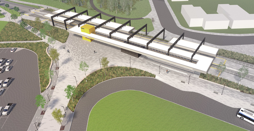 Edmonton LRT's Stadium Station is getting a makeover (RENDERINGS)