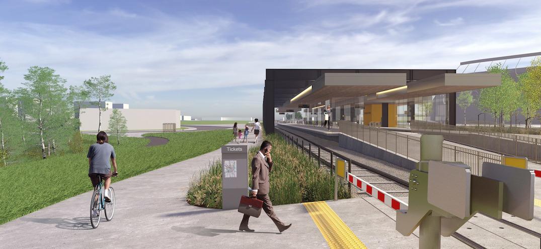 Edmonton Station Station LRT
