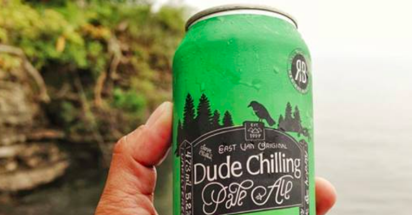 Dude Chilling Park beer from R&B Brewing
