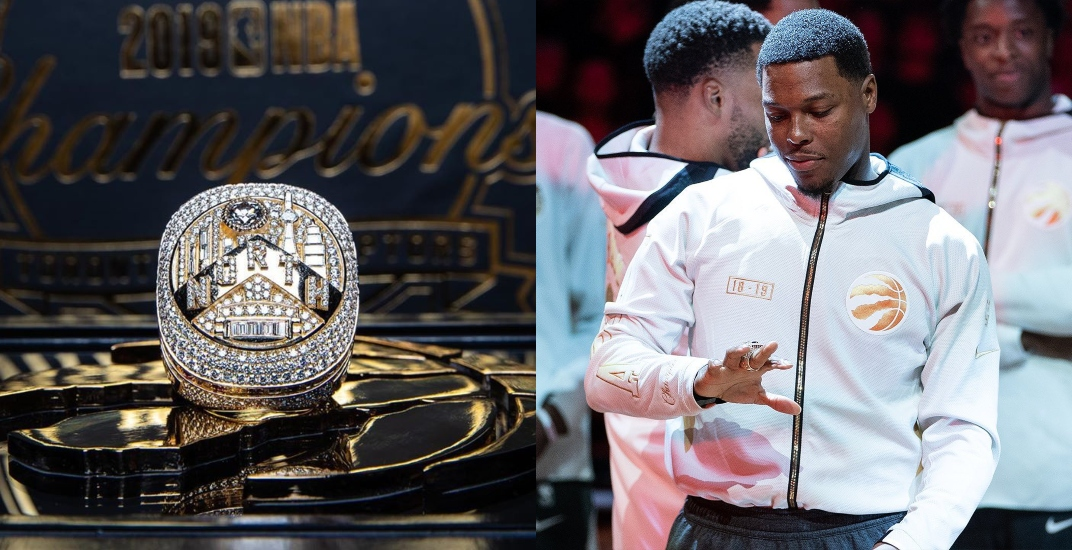 Raptors championship rings set pro sports record for most diamonds (PHOTOS)