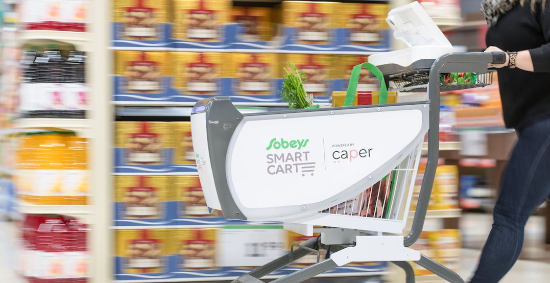 """Ontario is getting its first-ever """"smart"""" grocery cart today"""