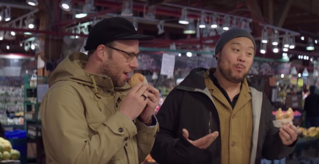 All the Vancouver spots Seth Rogen took David Chang to in the chef's new Netflix show
