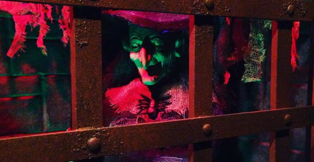 A frightening horror fair has made its way to Laval (VIDEO)