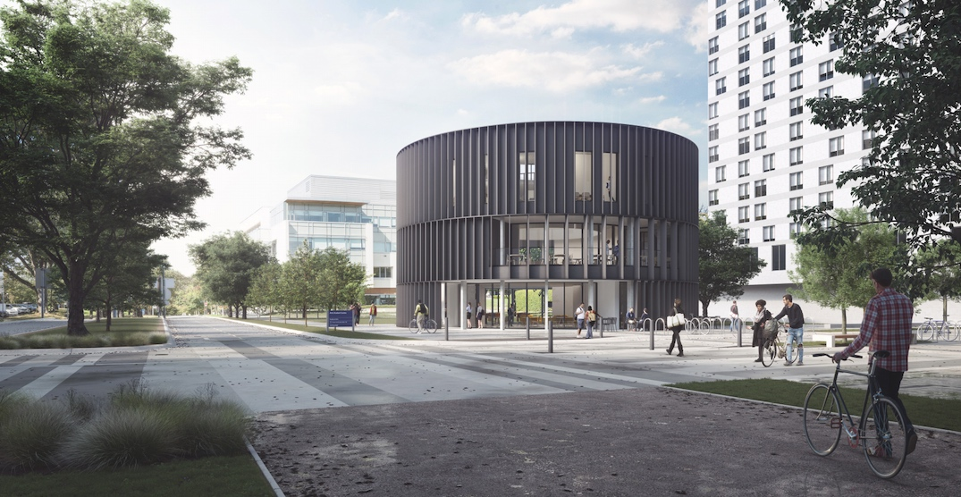 New circular building design for UBC Arts Student Centre (RENDERINGS)