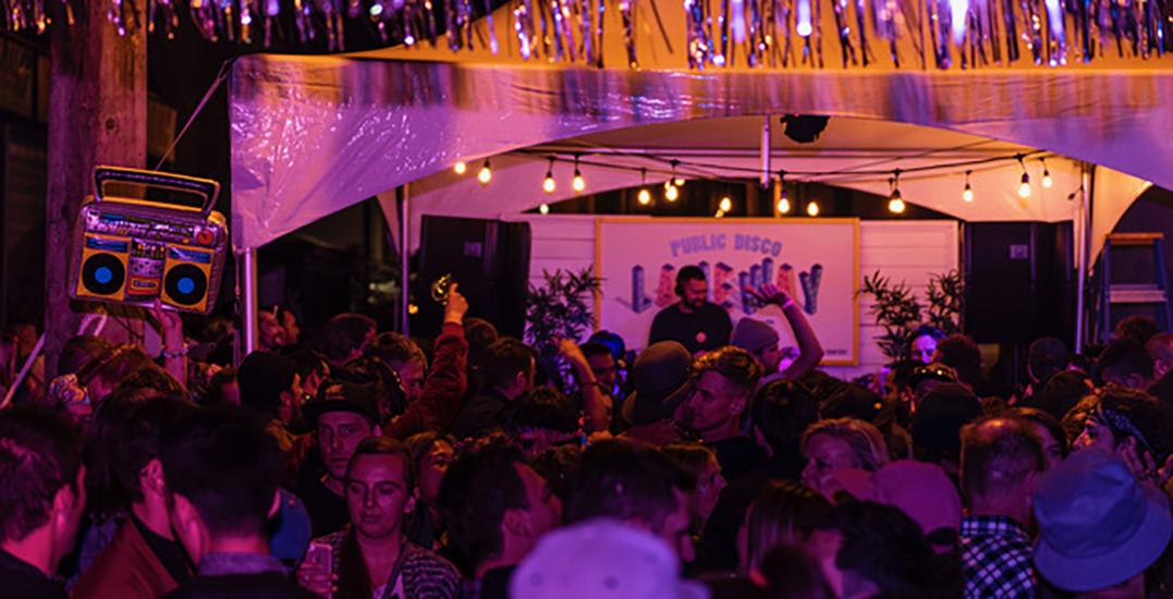 Public Disco is hosting a 3-day Lumière block party next month