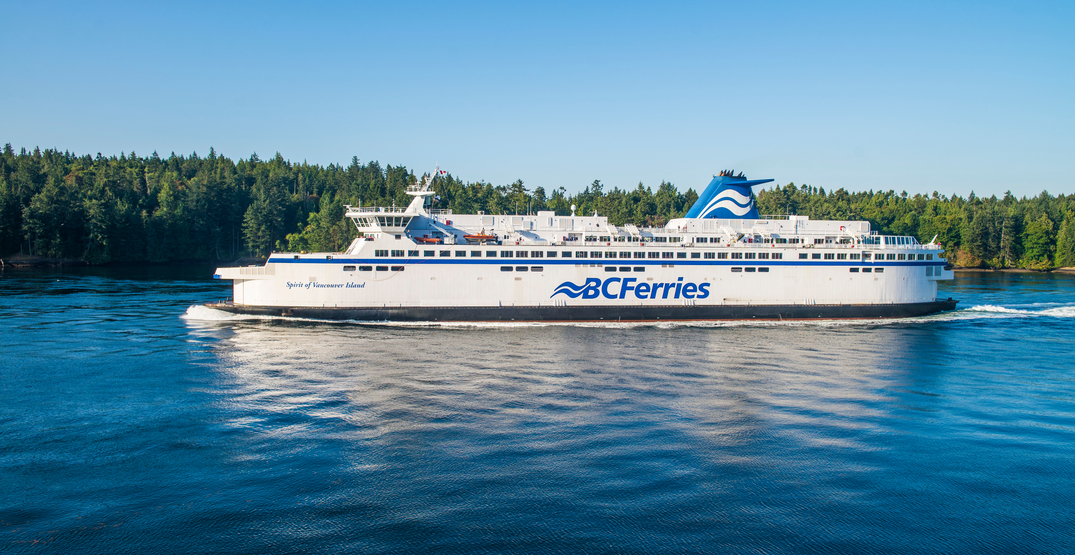 BC Ferries continues to operate while advising against all non-essential travel